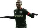 Moussa Diaby football render