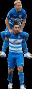 Mustafa Saymak & Reza Ghoochannejhad football render