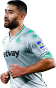 Nabil Fekir football render