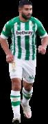 Nabil Fekir football render