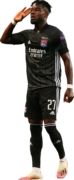 Maxwel Cornet football render