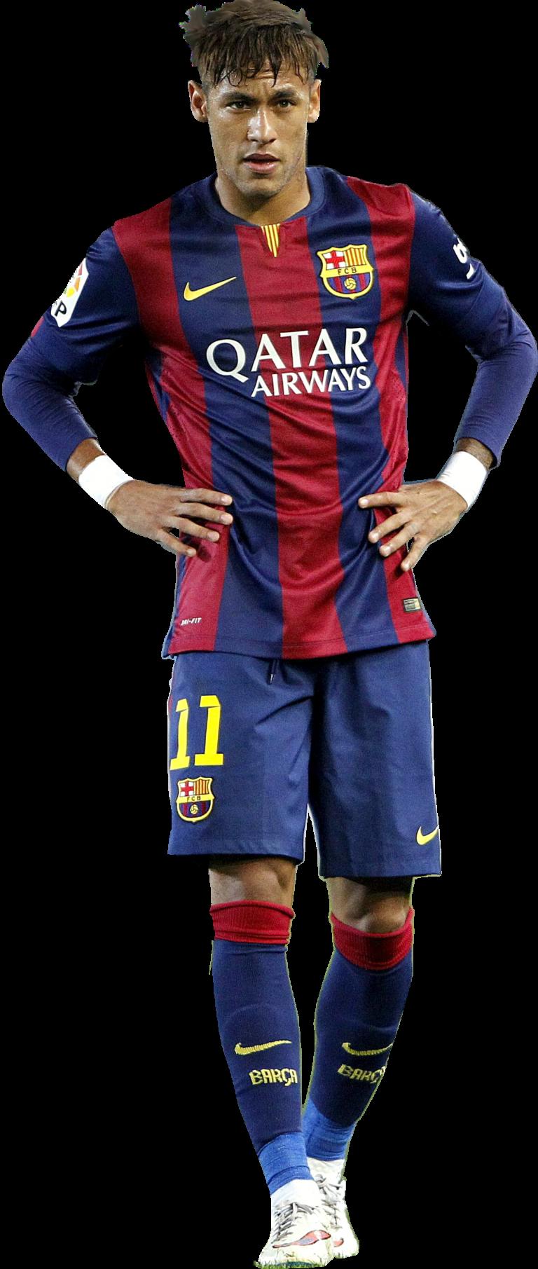 Neymar football render 12202 footyrenders - Render barcelona ...