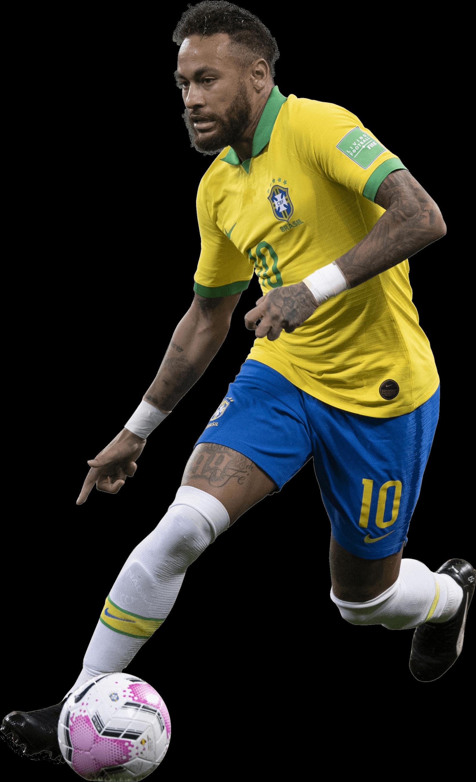 Neymar football render - 72450 - FootyRenders