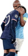 Neymar & Fernandinho football render