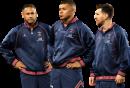 Neymar, Kylian Mbappé & Lionel Messi football render