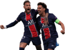 Neymar & Marquinhos football render
