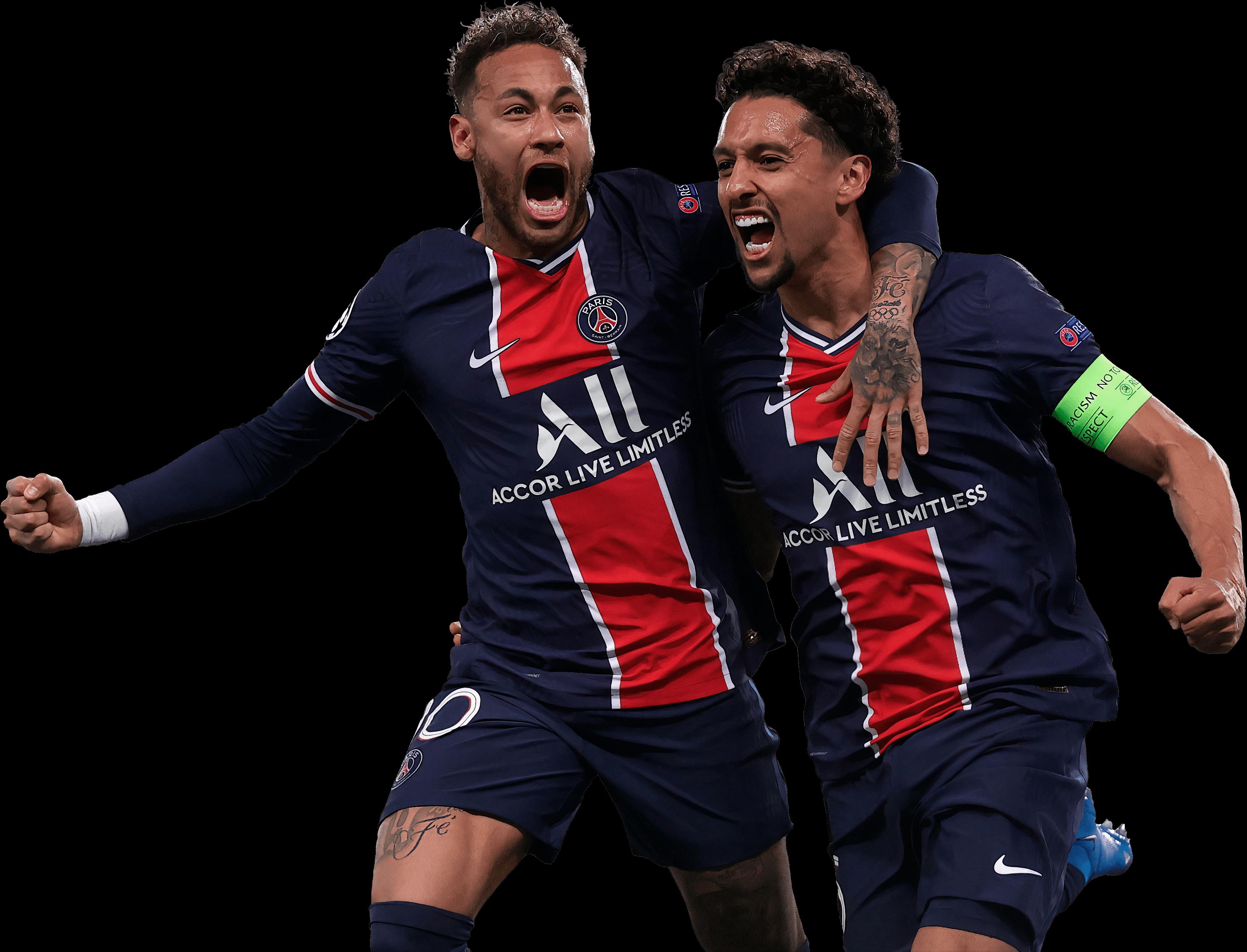 Neymar & Marquinhosrender