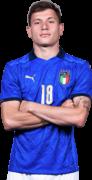 Nicolo Barella football render