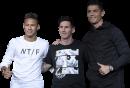 Neymar, Lionel Messi & Cristiano Ronaldo