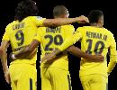 Edinson Cavani, Kylian Mbappé, Neymar football render