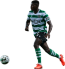 Nuno Mendes football render