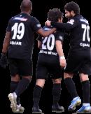 Olcay Sahan, Recep Niyaz & Oscar Estupinan football render