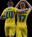 Oleksandr Zubkov & Oleksandr Zinchenko football render