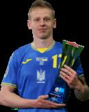 Oleksandr Zinchenko football render