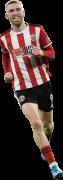 Oliver McBurnie football render