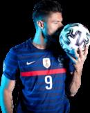 Olivier Giroud football render