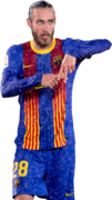 Óscar Mingueza football render