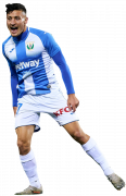 Óscar Rodríguez football render