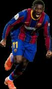 Ousmane Dembélé football render