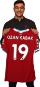 Ozan Kabak football render