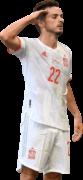 Pablo Sarabia football render