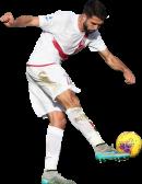 Paolo Faragò football render