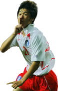 Park Ji-Sung football render