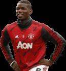 Paul Pogba football render