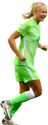 Pernille Harder football render