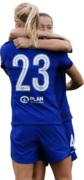 Pernille Harder & Fran Kirby football render
