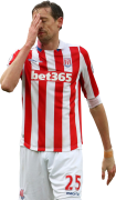 Peter Crouch football render