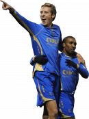 Peter Crouch & Jermaine Defoe football render