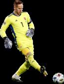 Péter Gulácsi football render