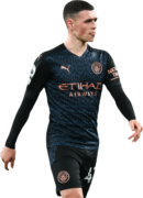 Phil Foden football render