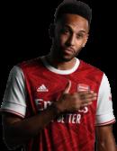 Pierre-Emerick Aubameyang football render