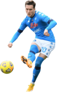 Piotr Zielinski football render
