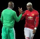 Florentin Pogba & Paul Pogba football render