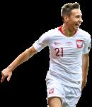 Przemyslaw Frankowski football render