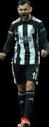 Rachid Ghezzal football render
