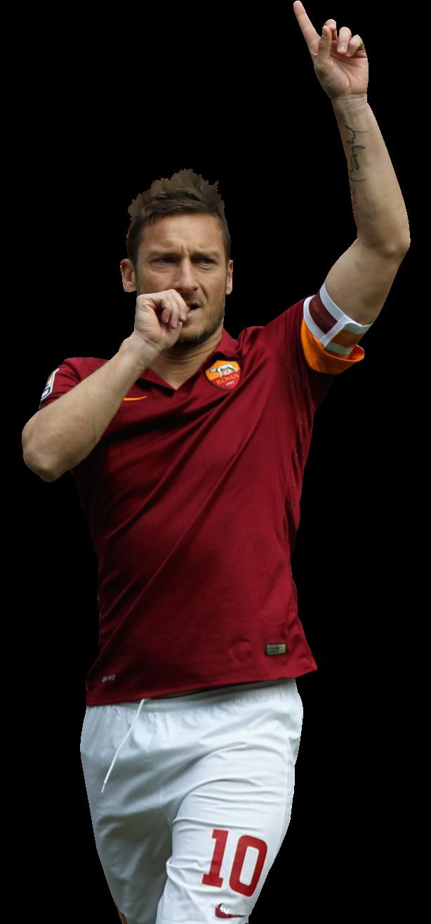 Francesco Totti football render - 12688 - FootyRenders