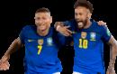 Richarlison & Neymar football render