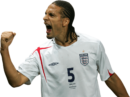 Rio Ferdinand football render