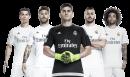 Cristiano Ronaldo, Sergio Ramos, Iker Casillas, Karim Benzema & Marcelo