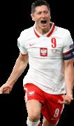 Robert Lewandowski football render