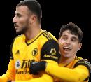 Romain Saiss & Pedro Neto football render