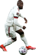 Romelu Lukaku football render