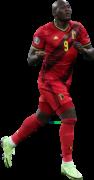 Romelu Lukaku football render