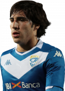Sandro Tonali football render