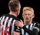 Sean Longstaff & Matthew Longstaff football render