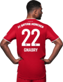 Serge Gnabry football render